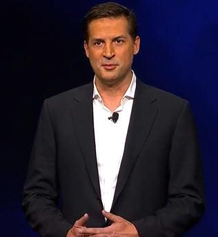 Sony's Gaikai CEO David Perry (screen grab from Sony webcast)
